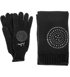 Комплект шарф и перчатки Desigual