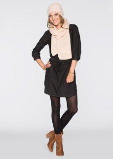 Комплект Алина: шапочка и шарф (цвет пудры) Bonprix