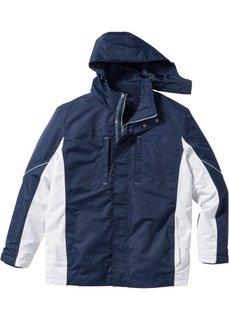 Функциональная куртка 3 в 1 Regular Fit (темно-красный/темно-антрацитов) Bonprix