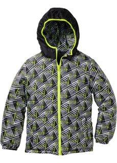 Двухсторонняя стеганая куртка (ночная синь/лазурный) Bonprix