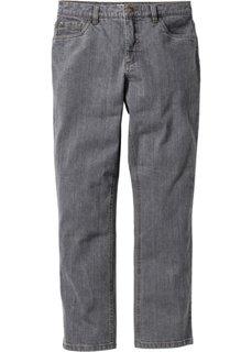 Прямые стрейтчевые джинсы, cредний рост (N) (синий) Bonprix