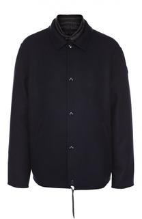 Куртка Vincent из смеси шерсти и кашемира с пуховой подстежкой Moncler