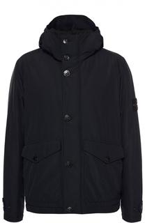 Утепленная куртка с капюшоном Stone Island