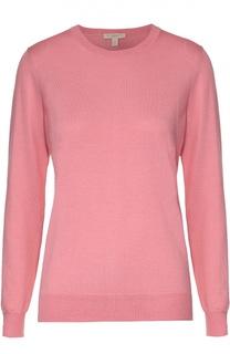 Шерстяной пуловер с декоративными заплатками Burberry Brit