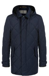 Стеганая куртка с капюшоном Canali