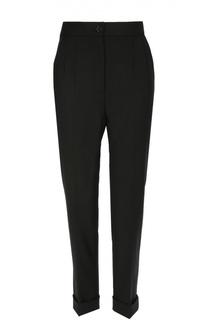 Укороченные брюки прямого кроя с завышенной талией Dolce & Gabbana