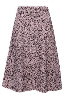 Буклированная юбка А-силуэта с широким поясом M Missoni