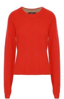 Кашемировый пуловер с круглым вырезом и удлиненным рукавом Rag&Bone Rag&Bone
