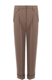 Укороченные брюки прямого кроя Giorgio Armani
