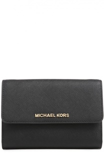 Кожаная сумка с клапаном Jet Set Travel Michael Michael Kors
