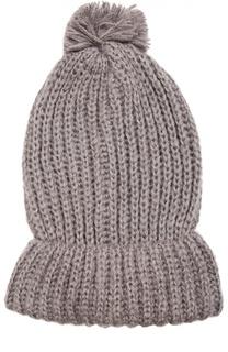 Вязаная шапка с помпоном Deha