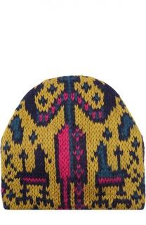 Вязаная шапка с узором Tak.Ori