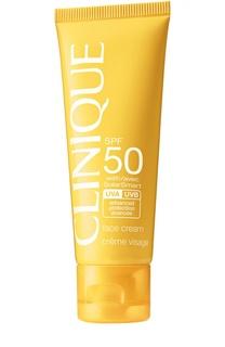 Солнцезащитный крем для лица c SPF 50 Clinique