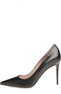 Кожаные туфли Adina с фурнитурой Gucci