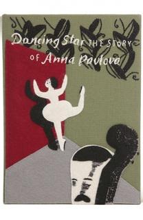 Клатч в виде книги с аппликацией Olympia Le-Tan