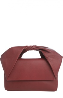 Кожаная сумка Twist J.W. Anderson