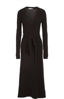 Вязаное платье с поясом Chloé