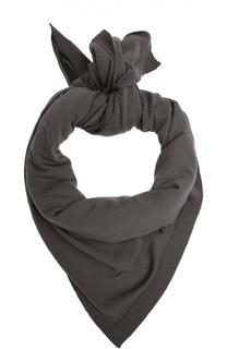Шарф тонкой вязки из шерсти Rick Owens