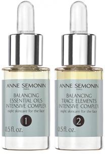 Восстанавливающий баланс кожи интенсивный комплекс с эфирными маслами и олигоэлементами Anne Semonin