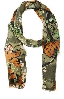 Кашемировый шарф с принтом Burberry Prorsum