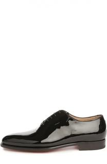 Туфли из лаковой кожи Kiton