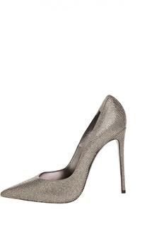 Кожаные туфли Torchon со стеклярусом Le Silla