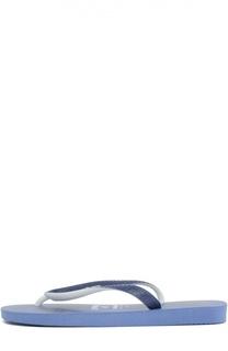 Резиновые шлепанцы с принтом Vilebrequin