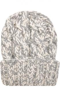 Вязаная шапка из шерсти Eugenia Kim