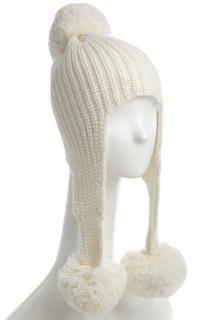 Вязаная шапка с помпонами Tak.Ori
