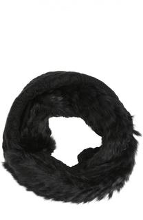 Вязаный шарф с отделкой из меха кролика Diane Von Furstenberg