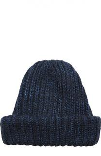 Вязаная шапка с отворотом Eugenia Kim