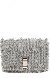 Сумка Extra Small Courier из твида Proenza Schouler