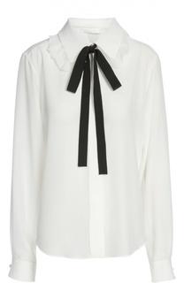 Блуза с галстуком Chloé