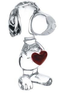 Скульптура Snoopy Coeur Baccarat
