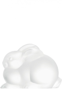 Скульптура Resting Rabbit Lalique