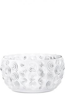 Ваза для фруктов Spirales Lalique