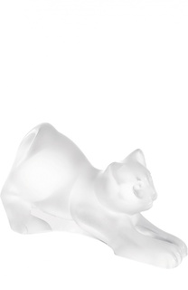 Скульптура Coaxing Kitten Lalique
