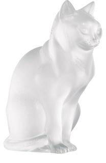 Скульптура Sitting Cat Lalique