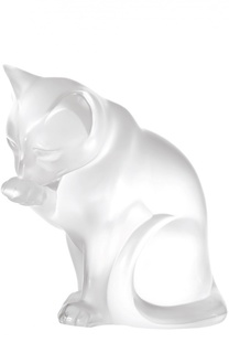 Скульптура Grooming Cat Lalique