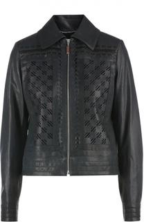 Кожаная куртка Escada Sport
