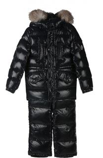 Куртка с аксессуарами Moncler Enfant