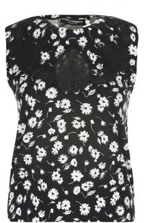 Вязаный топ Dolce & Gabbana