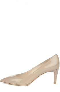 Лаковые туфли с зауженным мысом Giorgio Armani
