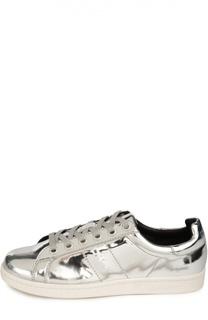 Кеды из металлизированной кожи DKNY