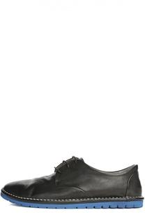 Кожаные ботинки с потертостями Marsell