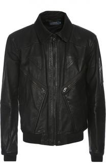 Кожаная куртка Polo Ralph Lauren