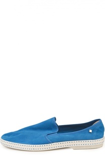 Замшевые эспадрильи Rivieras Leisure Shoes