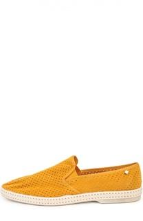 Эспадрильи из перфорированной замши Rivieras Leisure Shoes