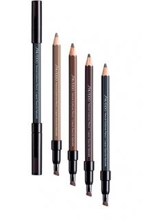 Натуральный контурный карандаш для бровей BR602 Shiseido