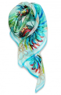 Шелковый платок Imperial Feathers Lalique
